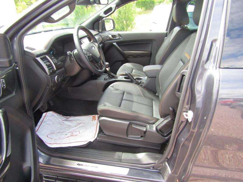 Photo 9 de l'offre de FORD RANGER III SUPER CAB WILDTRACK 2L TDCI 213 CV BI-TURBO 4X4 GPS CAMÉRA ATTELAGE COUVRE BENNE à 39800€ chez Bougel transactions