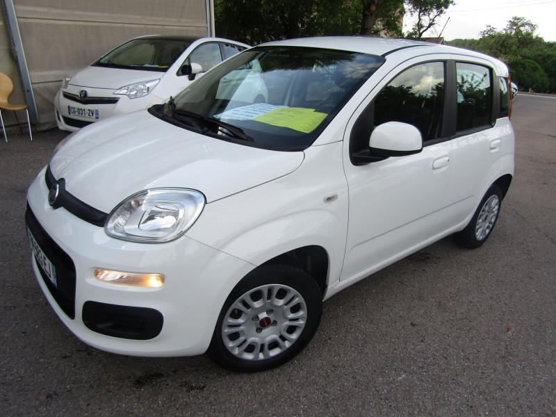 Fiat PANDA III 1L2 EASY  CLIM ÉCONOMIQUE  5 PORTES MÉDIA USB  START/STOP Essence BLANC STEPPE Occasion à vendre