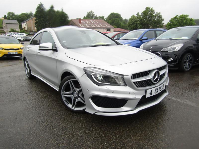 Mercedes-Benz CLA 180 CDI PACK AMG GPS XÉNON USB JA 18 RADAR BLUETOOTH RÉGULATEUR BOITE AUTO DCT-7 Diesel GRIS PLATINE Occasion à vendre
