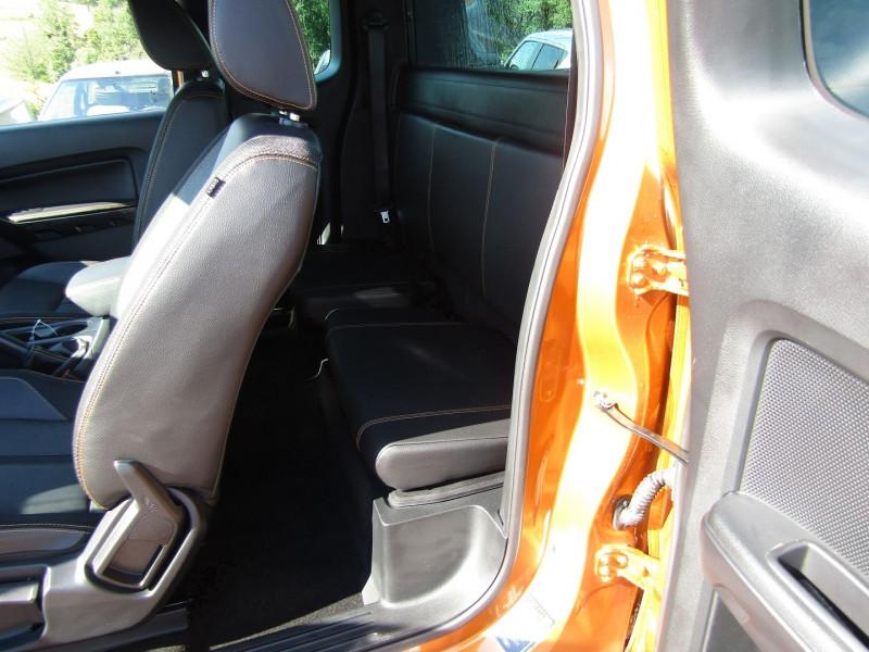Photo 10 de l'offre de FORD RANGER III SUPER CAB WILDTRACK 2L TDCI 213 CV BI-TURBO 4X4 GPS CAMÉRA ATTELAGE COUVRE BENNE à 39500€ chez Bougel transactions