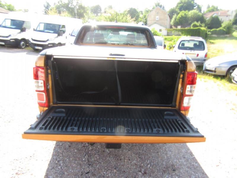 Photo 8 de l'offre de FORD RANGER III SUPER CAB WILDTRACK 2L TDCI 213 CV BI-TURBO 4X4 GPS CAMÉRA ATTELAGE COUVRE BENNE à 39500€ chez Bougel transactions