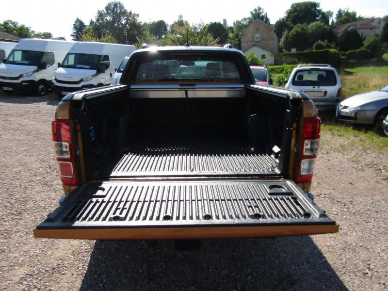 Photo 7 de l'offre de FORD RANGER III SUPER CAB WILDTRACK 2L TDCI 213 CV BI-TURBO 4X4 GPS CAMÉRA ATTELAGE COUVRE BENNE à 39500€ chez Bougel transactions
