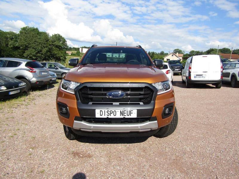 Photo 2 de l'offre de FORD RANGER III SUPER CAB WILDTRACK 2L TDCI 213 CV BI-TURBO 4X4 GPS CAMÉRA ATTELAGE COUVRE BENNE à 39500€ chez Bougel transactions