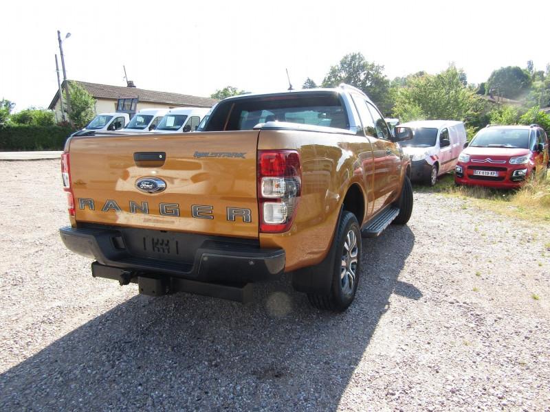 Photo 6 de l'offre de FORD RANGER III SUPER CAB WILDTRACK 2L TDCI 213 CV BI-TURBO 4X4 GPS CAMÉRA ATTELAGE COUVRE BENNE à 39500€ chez Bougel transactions