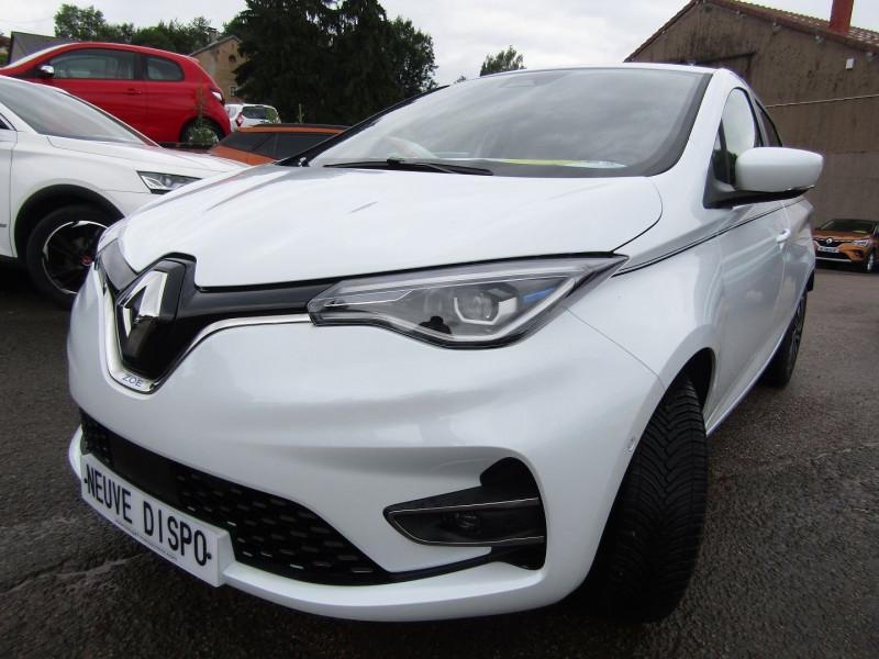Renault ZOE II 50 R135 INTENS RIVIERA GPS CAMÉRA I-COKPIT FULL LED JA 16 USB 395 KM D AUTONOMIE Electrique BLANC QUARTZ  Occasion à vendre