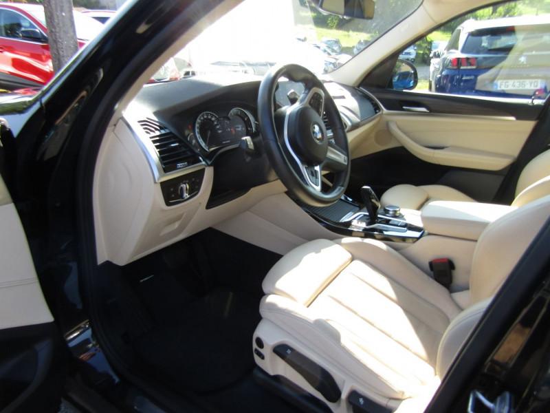 Photo 10 de l'offre de BMW X3 (G01) XDRIVE20DA 190CH XLINE à 39900€ chez Bougel transactions