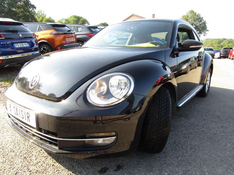 Volkswagen COCCINELLE 1L2 TSI 105 CV CONFORT PACK CLIM AUTO RÉGULATEUR BLUETOOTH ÉCRAN MÉDIA USB  6V Essence NOIR DIAMANT Occasion à vendre