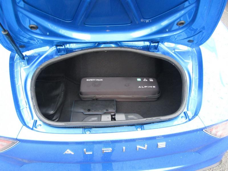Photo 7 de l'offre de ALPINE A110 PURE 252 CV BOITE AUTO + PALETTES à 63990€ chez Bougel transactions