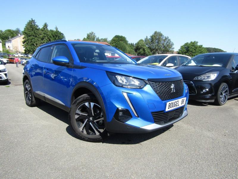 Peugeot 2008 III BLUE HDI 130 CV ALLURE PACK GPS CAMÉRA FULL LED MP3 USB JA 17  BOITE AUTO EAT-8 Diesel BLEU VERTIGO Occasion à vendre