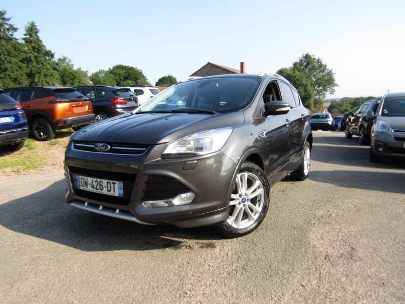 Ford KUGA II 2L TDCI 150 CV SPORT PLATINIUM GPS MP3 PK HIVER USB RADAR BLUETOOTH RÉGULATEUR Diesel GRIS CARBONE Occasion à vendre