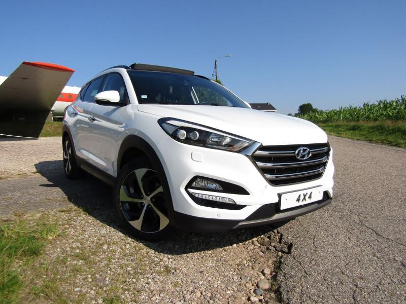 Hyundai TUCSON 2.0 CRDI 185CH EXECUTIVE 4WD BVA6 Diesel BLANC CRISTAL Occasion à vendre