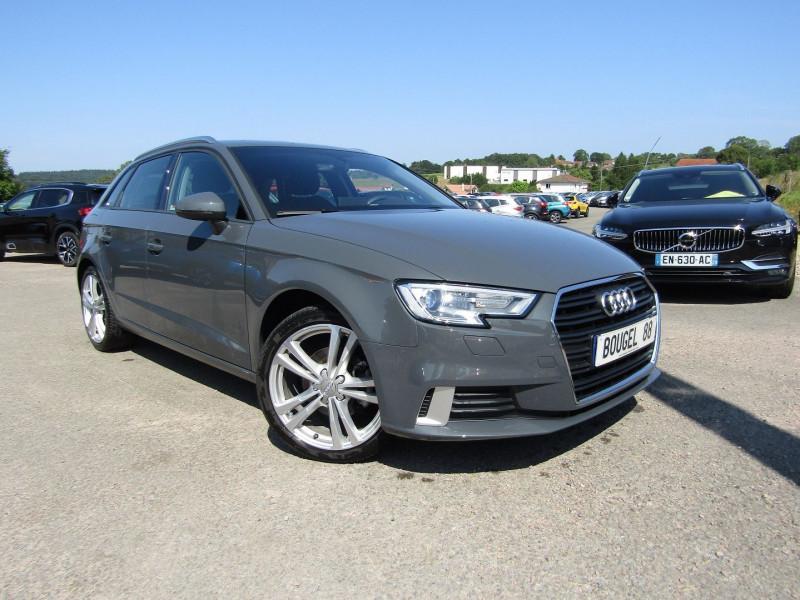 Audi A3 SPORTBACK 30 TDI 116 CV AMBITION SPORT FULL LED GPS USB JA 18 RADAR BLUETOOTH RÉGULATEUR Diesel GRIS NANOS Occasion à vendre