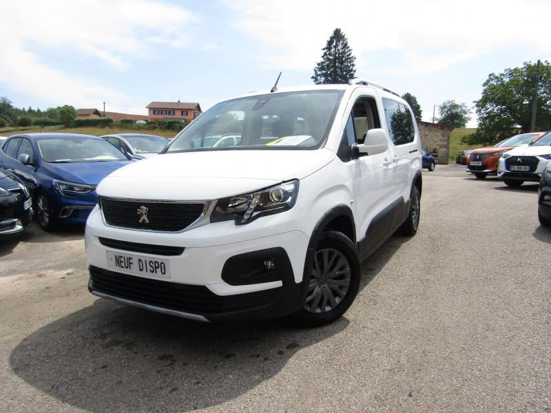 Peugeot RIFTER LONG ALLURE BLUE HDI 130 CV GPS 3D USB RE CAMÉRA 180° PACK HIVER BLUETOOTH RÉGULATEUR Diesel BLANC BANQUISE Occasion à vendre