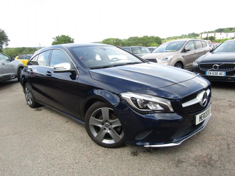 Mercedes-Benz CLA SHOOTING BRAKE EXECUTIVE 200 CDI 136 CV GPS CAMÉRA MP3 USB JA 17 RÉGULATEUR BOITE AUTO DCT-7 Diesel BLEU CAVANISTE Occasion à vendre
