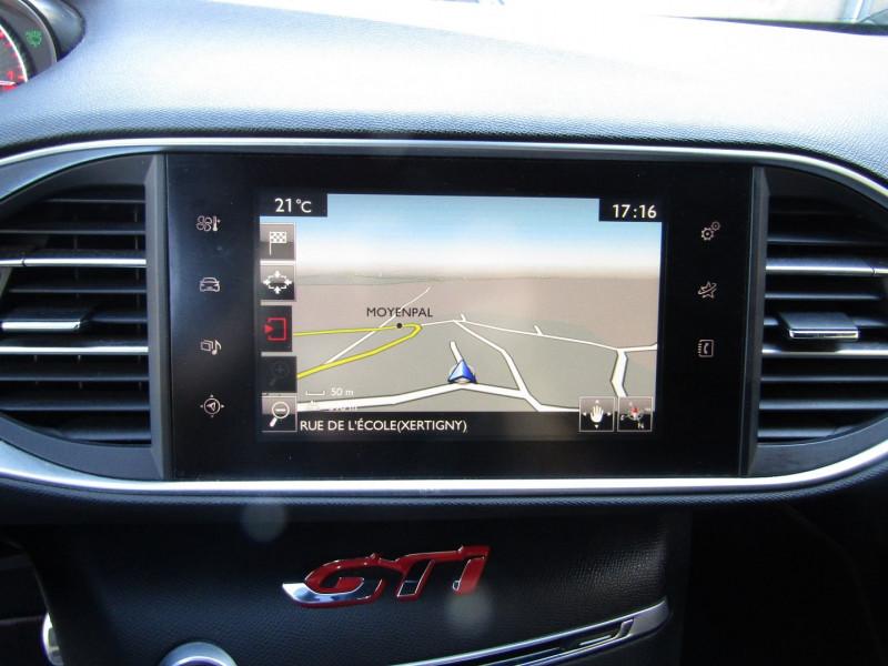 Photo 11 de l'offre de PEUGEOT 308 III GTI 270 CV TOIT PANO CUIR CLIM GPS CAMÉRA BOITE 6V à 19400€ chez Bougel transactions