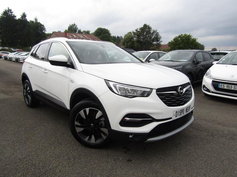 Opel GRANDLAND X ELEGANCE BLUE CDTI 130 CV GPS 3D CAMÉRA FULL LED USB JA 18 PK ASSIST RÉGULATEUR Diesel BLANC JADE Occasion à vendre
