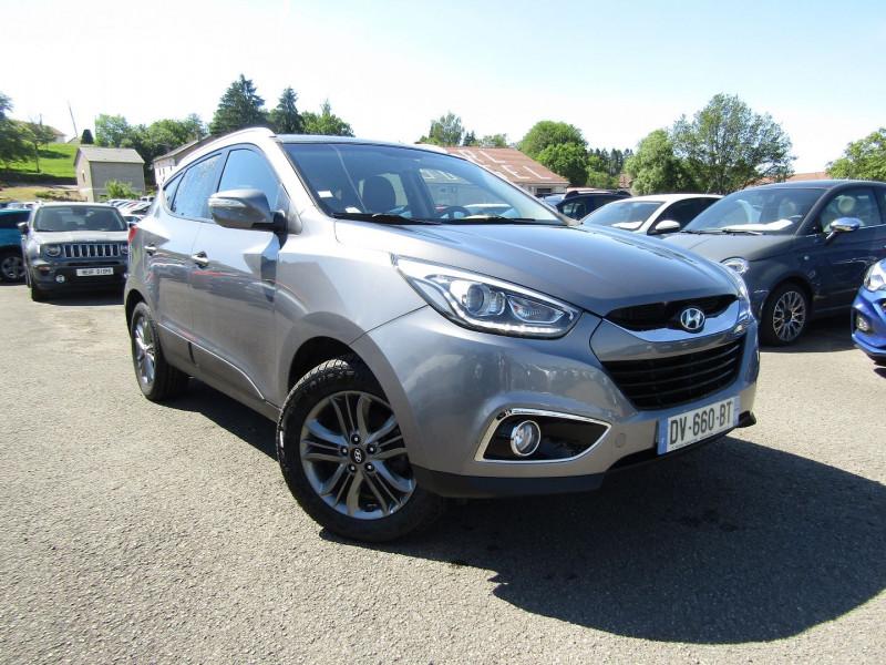 Hyundai IX35 PACK SENSATION CRDI 1L7 TURBO DIESEL 115 CV CAMÉRA GPS MÉDIA USB   BOÎTE 6V Diesel GRIS TITANIUM Occasion à vendre