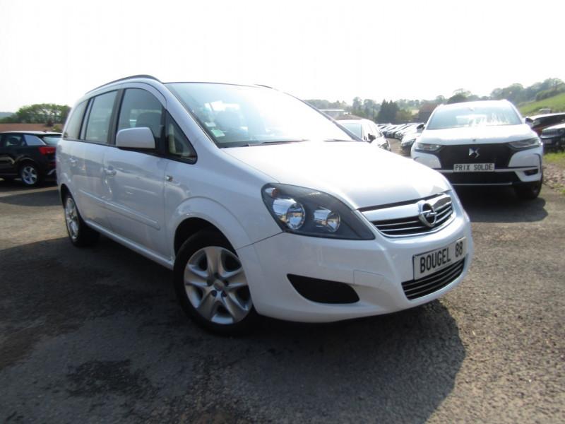Opel ZAFIRA 1L7 CDTI 110 CV EDITION 7 PLACES CLIM AUDIO MP3 USB ROUE DE SECOURS RÉGULATEUR Diesel BLANC CRISTAL Occasion à vendre
