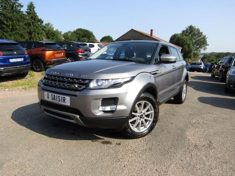 Land-Rover RANGE EVOQUE 2L2 TD4 4WD 150 CV BOITE AUTO LUXE 4X4 CUIR CLIM  GPS NOMADE RÉGULATEUR Diesel GRIS CHATEAU Occasion à vendre