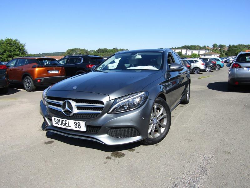 Mercedes-Benz CLASSE C BREAK (S205) 220 D BUSINESS EXECUTIVE GPS FULL LED COFFRE ELECT MP3 USB JA 17 BOITE 7G-TRON Diesel GRIS CARBONE Occasion à vendre