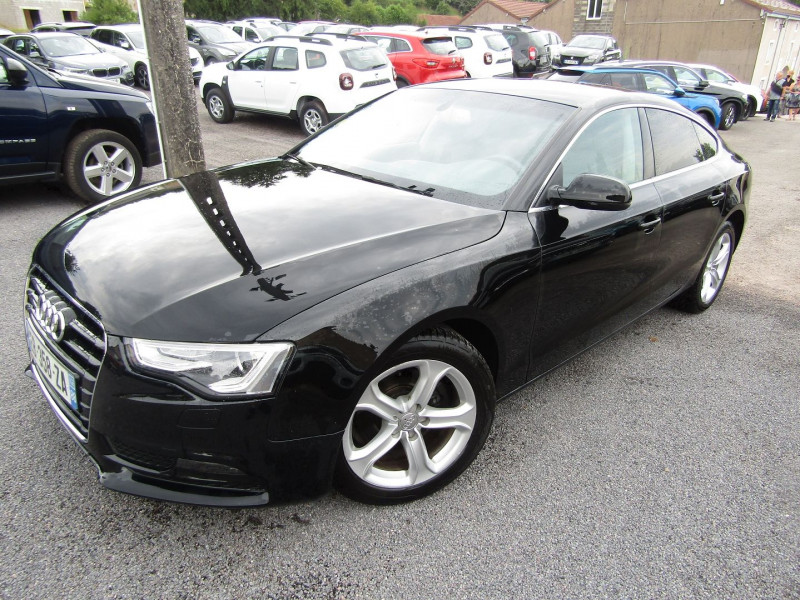 Audi A5 SPORTBACK 2L TDI 150 CV CLEAN AMBIENTE GPS XÉNON JA 17 MP3 USB BLUETOOTH RADAR RÉGULATEUR Diesel NOIR DIAMAND Occasion à vendre