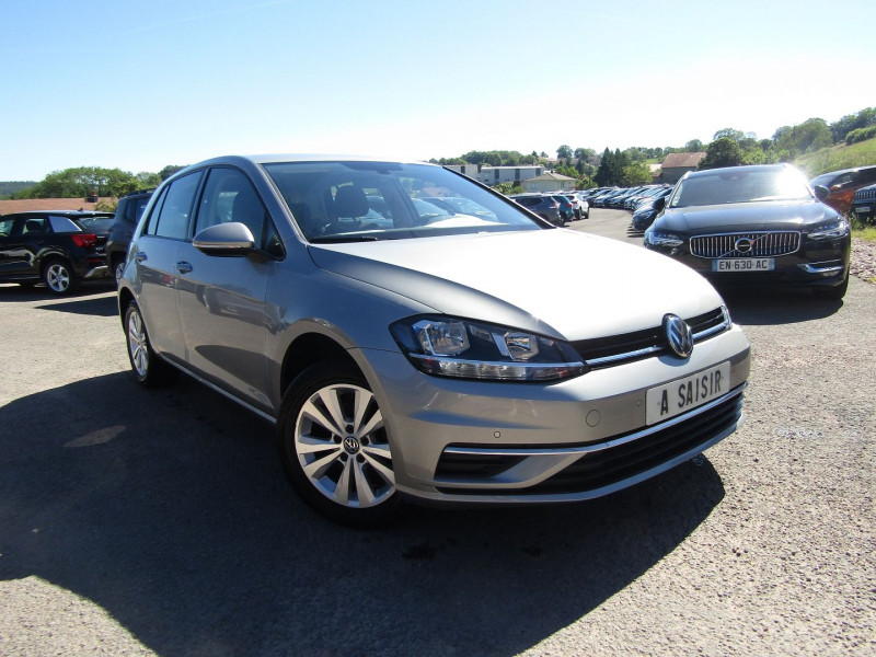 Volkswagen GOLF 7 TSI EVO 150 CV CONFORTLINE GPS TACTILE AUDIO MP3 USB RADAR BLUETOOTH RÉGULATEUR Essence GRISE INDIUM Occasion à vendre