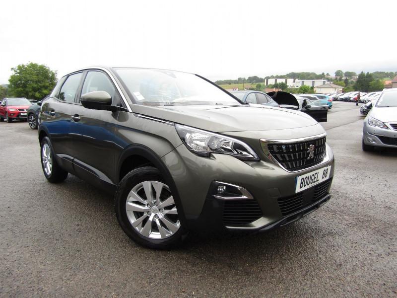 Peugeot 3008 III 1L6 BLUEHDI 120 CV ACTIVE BUSINESS LINK GPS TURBO DIESEL  6 VITESSES RÉGULATEUR Diesel GRIS AMAZONITE Occasion à vendre