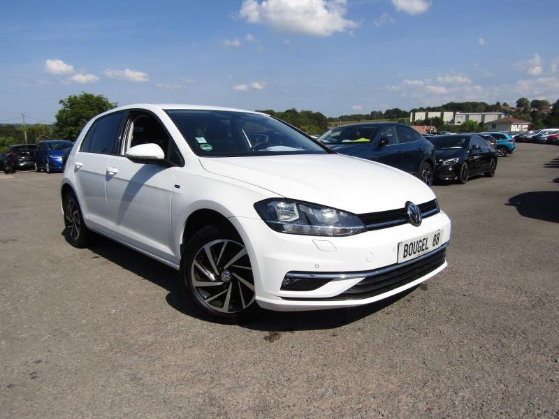Volkswagen GOLF 7 SÉRIE LIMITÉE JOIN 1L6 TDI 115 CV GPS PACK HIVER USB RADAR BLUETOOTH RÉGULATEUR Diesel BLANC MINÉRAL Occasion à vendre