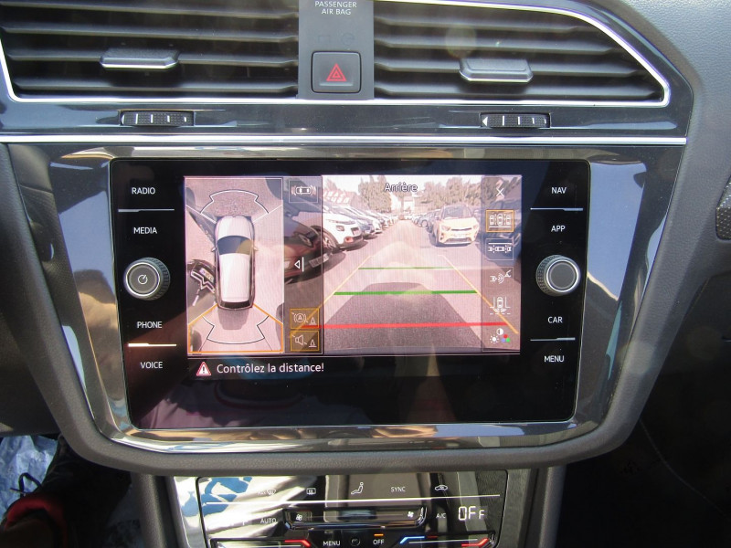 Photo 14 de l'offre de VOLKSWAGEN TIGUAN 4 2L TDI 150 CV R-LINE GPS 3D CAMÉRA 360° FULL LED MATRIX TOIT PANO BOITE AUTO DSG à 43500€ chez Bougel transactions