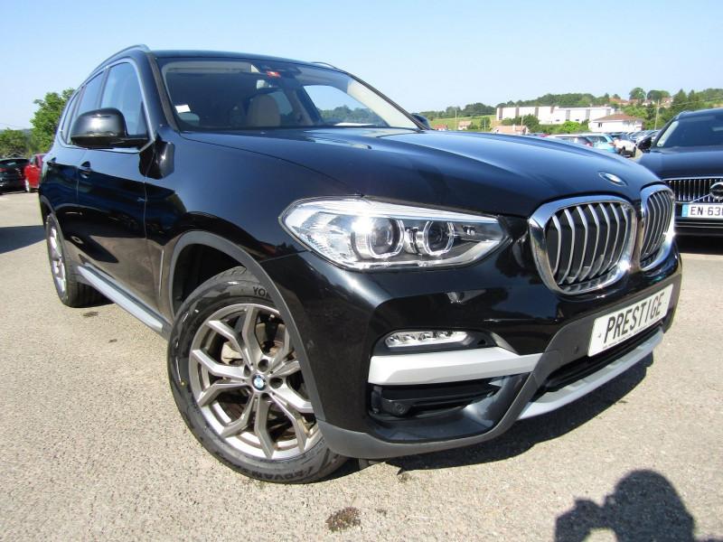 Bmw X3 (G01) XDRIVE20DA 190CH XLINE Diesel NOIR INTENS Occasion à vendre