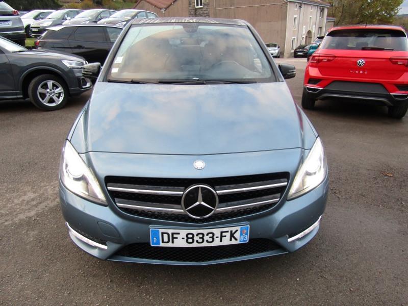 Mercedes-Benz CLASSE B (W246) 220 CDI FASCINATION 7G-DCT Diesel BLEU CARMINE Occasion à vendre