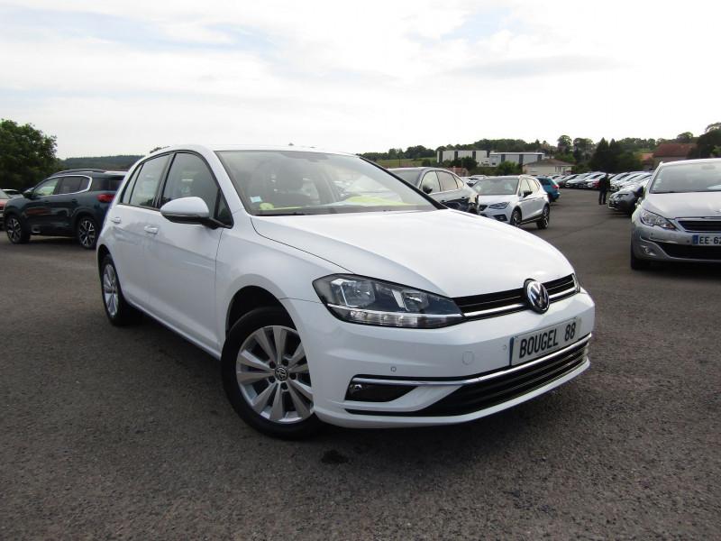 Volkswagen GOLF 7 CONFORTLINE DSG7 BOITE AUTO 1L6 TDI 115 CV GPS MÉDIA USB BLUETOOTH TURBO DIESEL Diesel BLANC CRISTAL Occasion à vendre