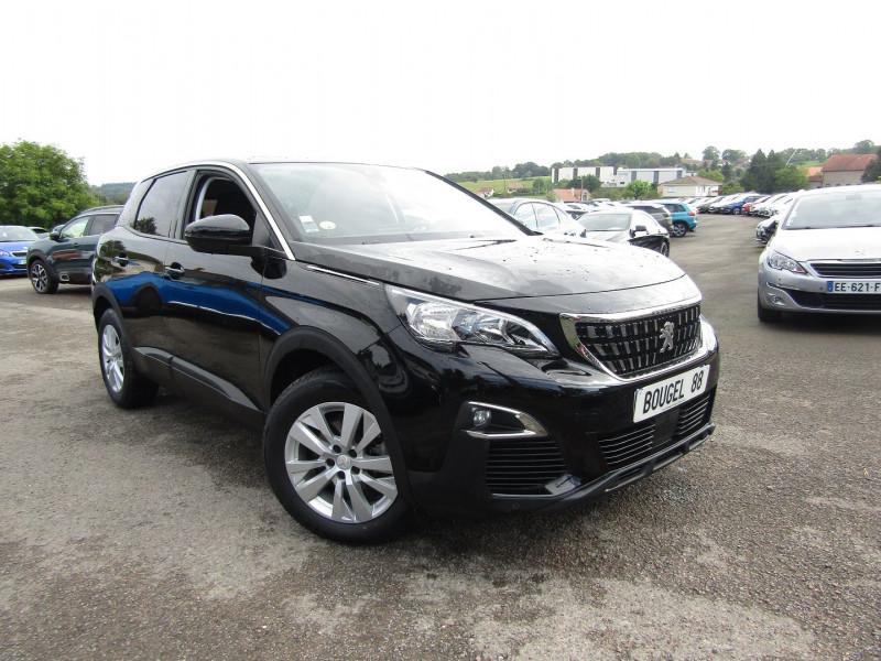 Peugeot 3008 III BLUE HDI 120 CV ACTIVE PLUS GPS TACTILE JA 17 MP3 USB RADAR BLUETOOTH RÉGULATEUR Diesel NOIR PERLA Occasion à vendre