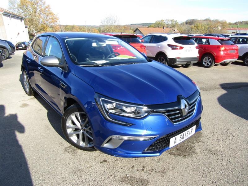 Renault MEGANE 4 BLUE DCI 115 CV GT-LINE ÉCRAN TACTILE FULL LED PK ASSIST CAMÉRA BOITE AUTO EDC Diesel BLEU IRON Occasion à vendre