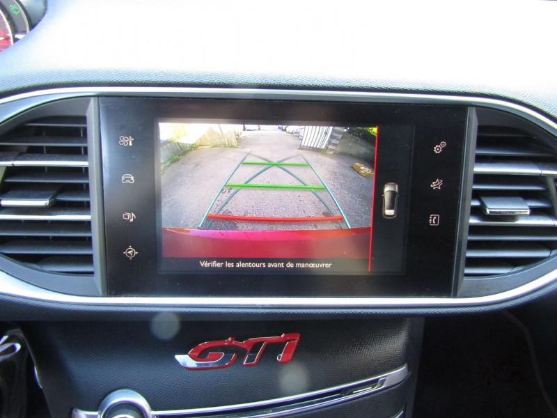 Photo 12 de l'offre de PEUGEOT 308 III GTI 270 CV TOIT PANO CUIR CLIM GPS CAMÉRA BOITE 6V à 19400€ chez Bougel transactions