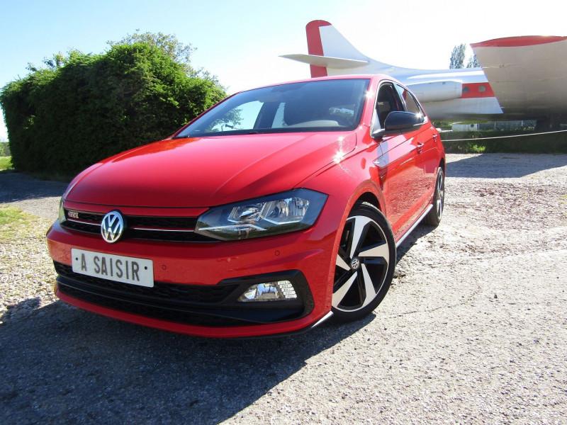 Volkswagen POLO 2L GTI 200 CV DSG.6 TSI BOÎTE AUTO SPORT PALETTE 5 PORTES  2X USB MÉDIA ÉCRAN Essence ROUGE SPORT Occasion à vendre