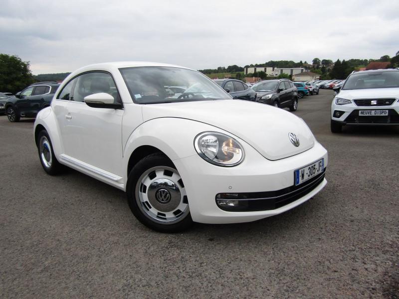 Volkswagen COCCINELLE 1L2 TSI 105 CV ALL STAR FENDER CLIMAT RÉGULATEUR BLUETOOTH GPS TACTILE  BOITE 6V Essence BLANC DISCO Occasion à vendre