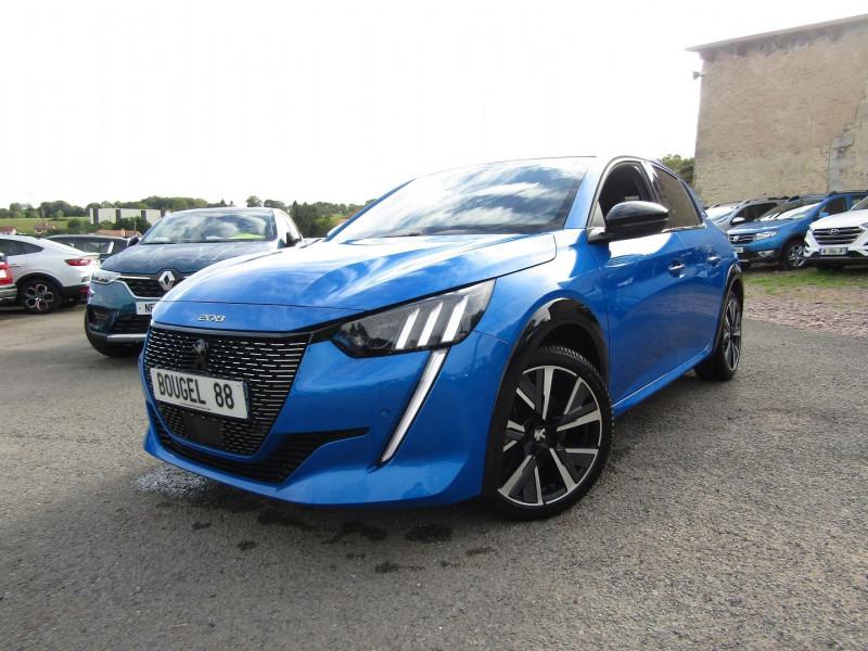 Peugeot 208 III GT-LINE 130 CV PURETECH CLIM GPS 3D CAMÉRA USB JA 17 FULL LED BOITE AUTO EAT-8 Essence BLEU VERTIGO Occasion à vendre