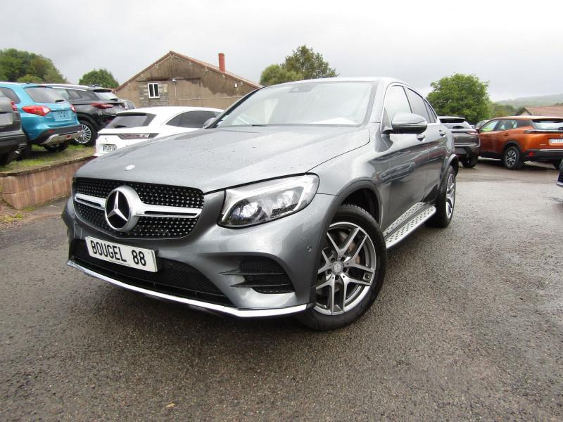 Mercedes-Benz GLC COUPE 250 D 204CH FASCINATION 4MATIC 9G-TRONIC Diesel GRIS CARBONE Occasion à vendre
