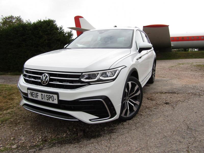Volkswagen TIGUAN 5 2L TDI 150 CV R-LINE GPS 3D CAMÉRA 360° FULL LED MATRIX TOIT PANO BOITE AUTO DSG Diesel BLANC NEVADA Occasion à vendre