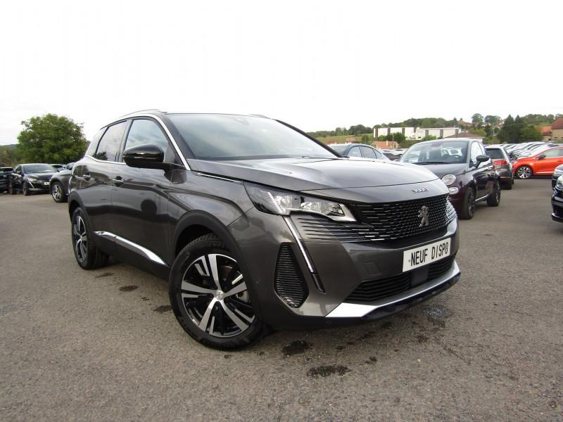 Peugeot 3008 PHASE 4 GT PURETECH 130 CV GPS 3D CAMÉRA JA 18 FULL LED PACK HIVER I-COKPIT COFFRE ELECT Essence GRIS / TOIT NOIR Occasion à vendre