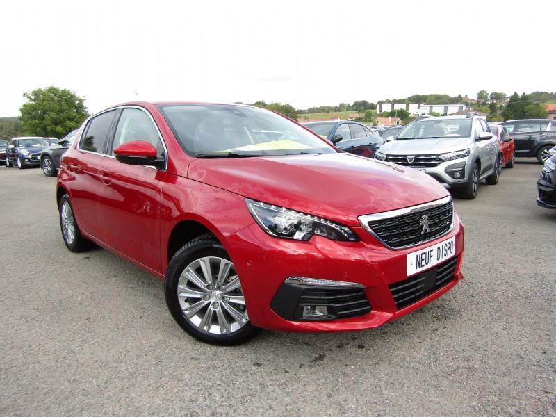 Peugeot 308 III 1L5 BLUEHDI 130 CV ALLURE PACK BOITE AUTO EAT8 PALETTE AU VOLANT CAMÉRA CUIR GPS Diesel ROUGE ULTIMATE Occasion à vendre