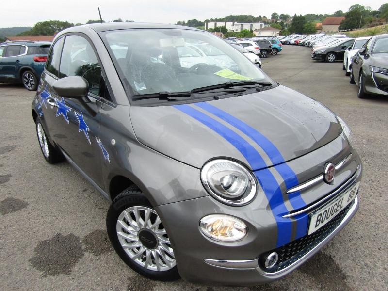 Fiat 500 II 1L2 LOUNGE 8V CLIM GPS U.CONNECT MÉDIA USB BLUETOOTH RÉGULATEUR TOIT PANO  J.ALU Essence GRIS MILANO Occasion à vendre