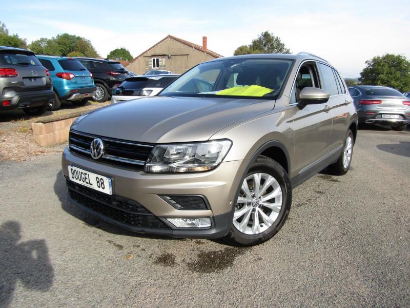 Volkswagen TIGUAN 4 2L TDI 115 CV GPS CONFORTLINE BUSINESS TURBO DIESEL  6 VITESSES CAMÉRA  USB LEDS Diesel BEIGE DAKAR Occasion à vendre