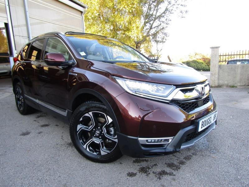 Honda CR-V 2L MMD EXCLUSIVE 4WD 184 CV HYBRIDE ESSENCE ELECTRIQUE GRAND LUXE  BOITE AUTO HYBRIDE ESSENCE  MARRON PAILLETÉ Occasion à vendre
