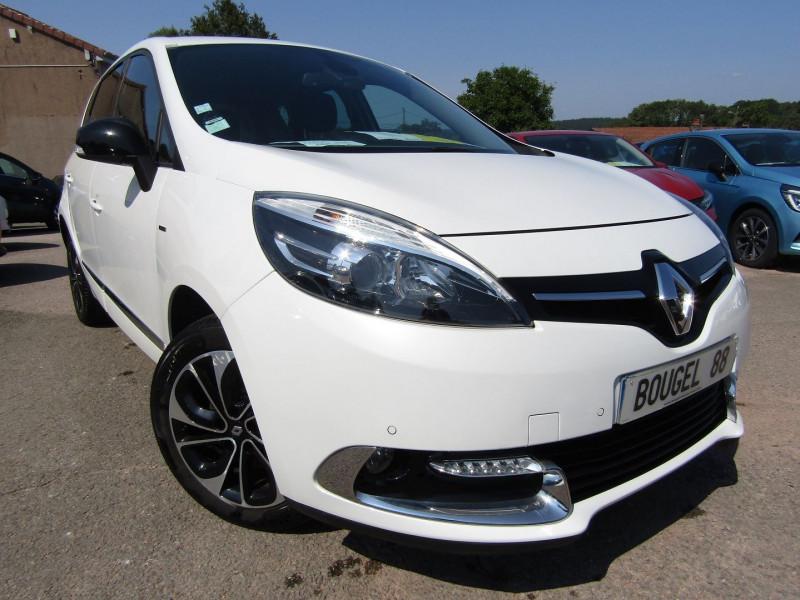 Renault SCENIC III DCI 110 CV ENERGY BOSE GPS TACTILE CAMÉRA USB JA 17 STORES BLUETOOTH RÉGULATEUR Diesel BLANC NACRÉ Occasion à vendre