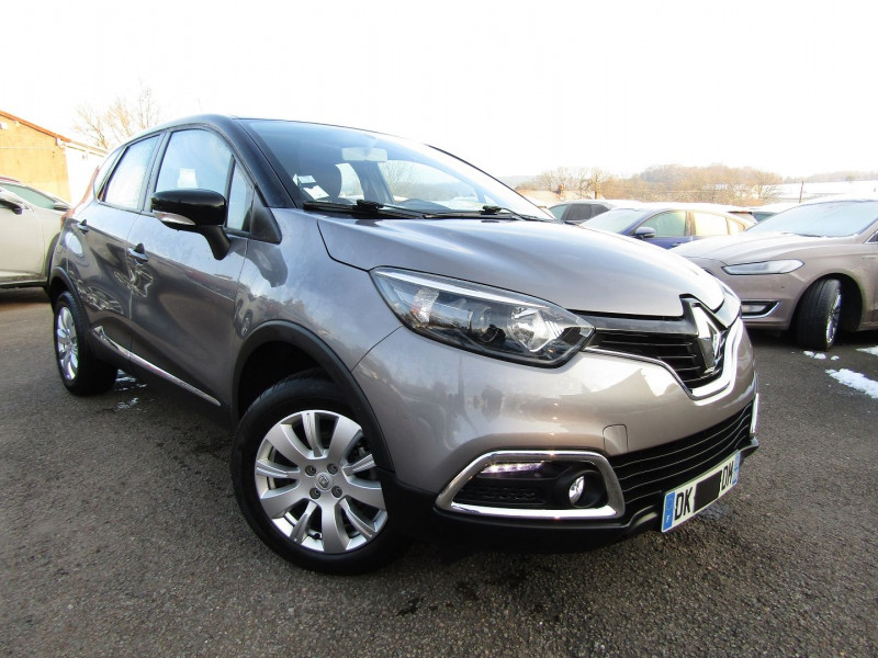 Renault CAPTUR 1L5 DCI 90 CV ENERGY BUSINESS GPS CLIM MP3 USB BI-TON RADAR BLUETOOTH RÉGULATEUR Diesel GRIS CASSIOPE Occasion à vendre