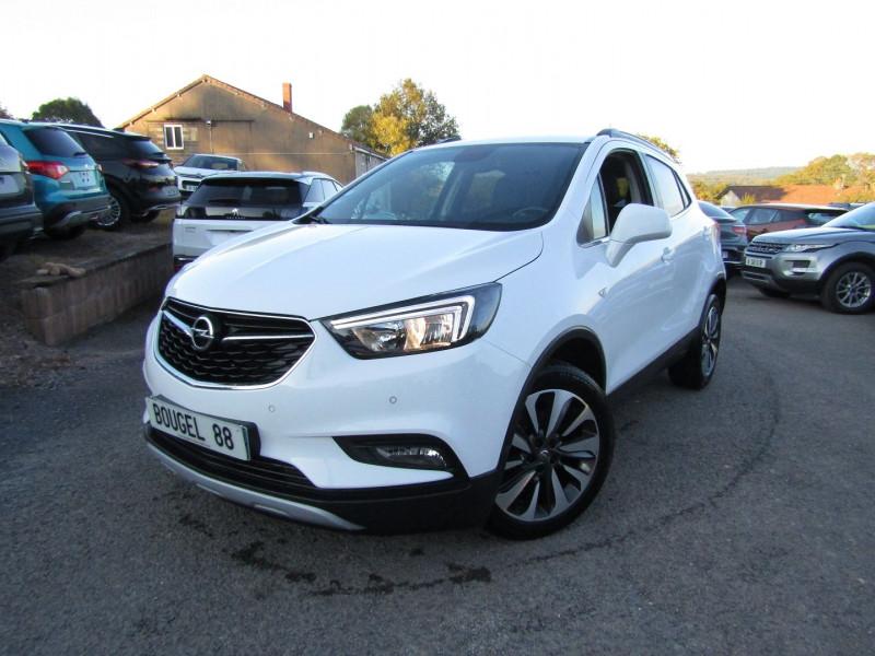 Opel MOKKA X 1L6 CDTI 136 CV INNOVATION 4X2 GPS CAMÉRA MI/CUIR USB JA 18 BLUETOOTH RÉGULATEUR Diesel BLANC ALPIN Occasion à vendre