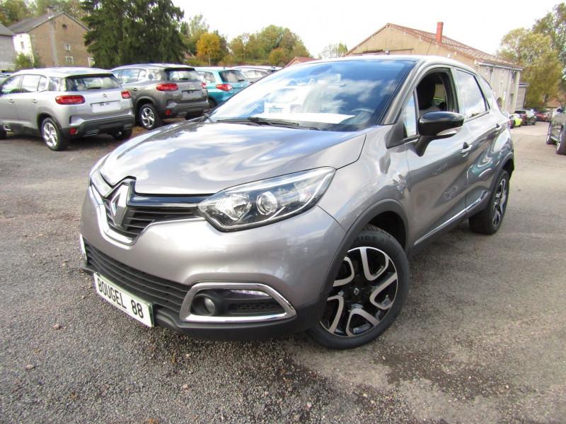 Renault CAPTUR DCI 110 CV ENERGY INTENS GPS TACTILE USB RADAR JA 17 BI-TON BLUETOOTH RÉGULATEUR Diesel GRIS / TOIT NOIR Occasion à vendre