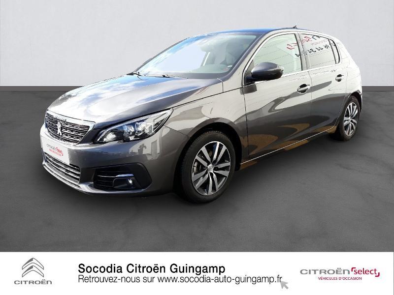 Peugeot 308 1.5 BlueHDi 130ch S&S Allure Diesel GRIS PLATINIUM Occasion à vendre